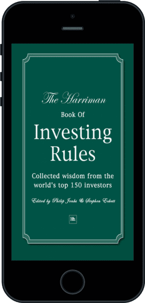 Cover of The Harriman Book Of Investing Rules (Ebook - phone) by Stephen Eckett