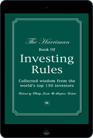 Cover of The Harriman Book Of Investing Rules (Ebook - tablet) by Stephen Eckett