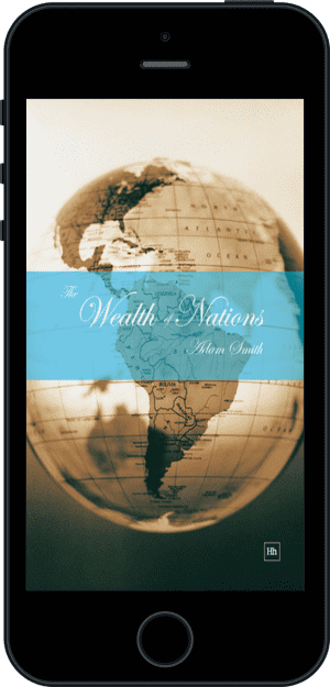 Cover of The Wealth of Nations (Ebook - phone) by Adam Smith