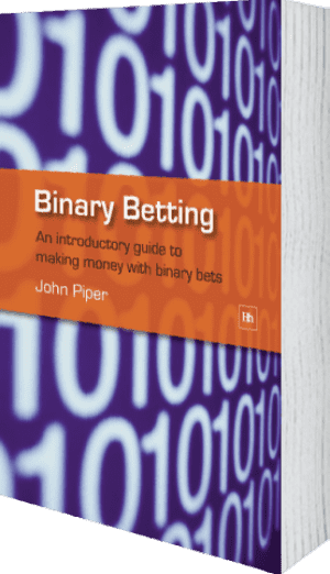 Cover of Binary Betting by John Piper