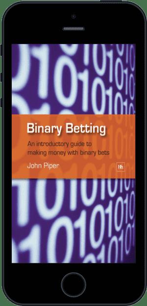 Cover of Binary Betting (Ebook - phone) by John Piper