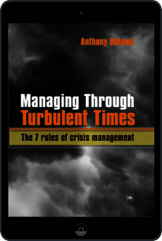 Cover of Managing Through Turbulent Times by Anthony Holmes