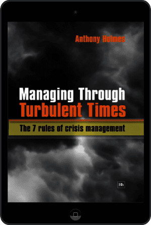 Cover of Managing Through Turbulent Times (Ebook - tablet) by Anthony Holmes
