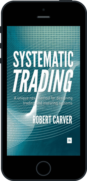 Cover of Systematic Trading (Ebook - phone) by Robert Carver