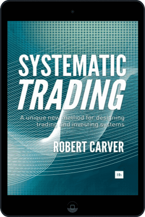 Cover of Systematic Trading (Ebook - tablet) by Robert Carver