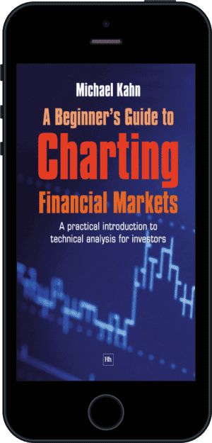 Cover of A Beginner's Guide to Charting Financial Markets (Ebook - phone) by Michael Kahn
