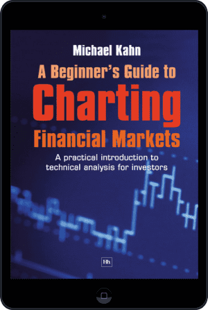 Cover of A Beginner's Guide to Charting Financial Markets (Ebook - tablet) by Michael Kahn