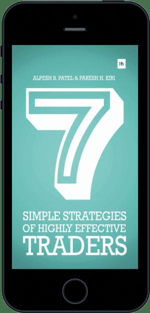 Cover of 7 Simple Strategies of Highly Effective Traders (Ebook - phone) by Alpesh B. Patel andParesh H. Kiri