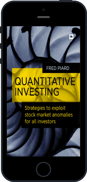 Cover of Quantitative Investing (Ebook - phone) by Fred Piard