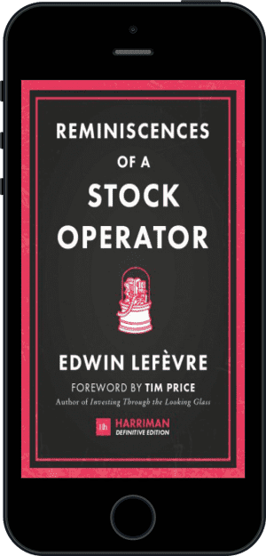Cover of Reminiscences of a Stock Operator (Harriman Definitive Editions) (Ebook - phone) by Edwin Lefevre