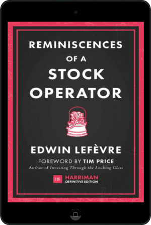 Cover of Reminiscences of a Stock Operator (Harriman Definitive Editions) (Ebook - tablet) by Edwin Lefevre