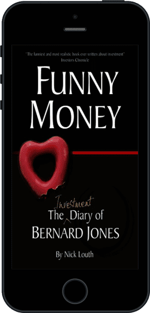 Cover of Funny Money (Ebook - phone) by Nick Louth