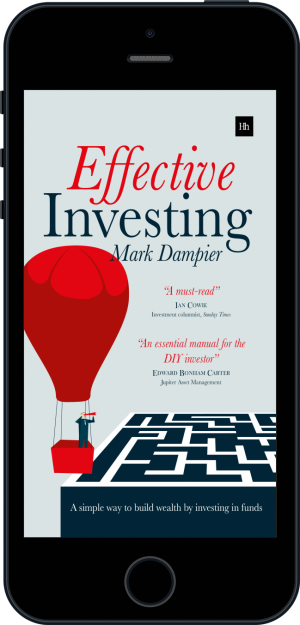 Cover of Effective Investing (Ebook - phone) by Mark Dampier