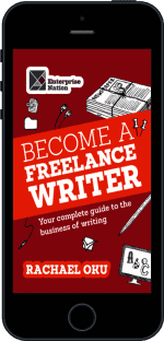 Cover of Become a Freelance Writer by Rachael Oku