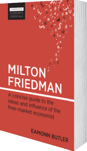 Cover of Milton Friedman by Eamonn Butler