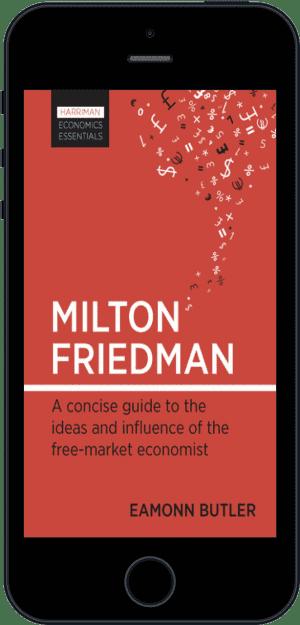 Cover of Milton Friedman (Ebook - phone) by Eamonn Butler