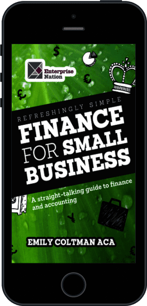 Cover of Refreshingly Simple Finance for Small Business (Ebook - phone) by Emily Coltman