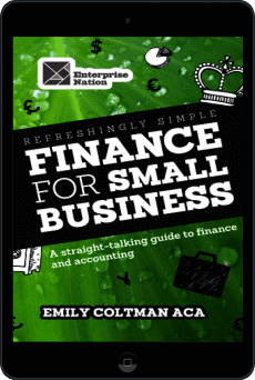 Cover of Refreshingly Simple Finance for Small Business by Emily Coltman