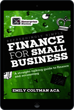 Cover of Refreshingly Simple Finance for Small Business (Ebook - tablet) by Emily Coltman