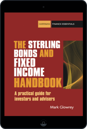 Cover of The Sterling Bonds and Fixed Income Handbook (Ebook - tablet) by Mark Glowrey