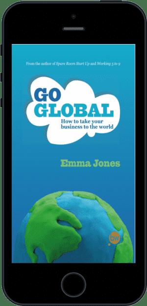 Cover of Go Global (Ebook - phone) by Emma Jones