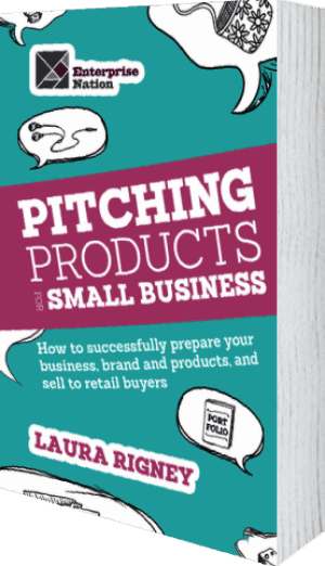 Cover of Pitching Products For Small Business by Laura Rigney