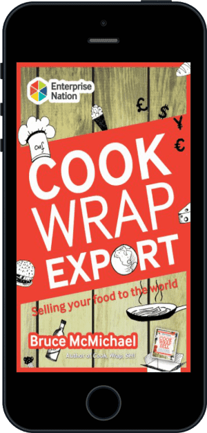 Cover of Cook Wrap Export (Ebook - phone) by Bruce McMichael