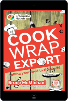 Cover of Cook Wrap Export by Bruce McMichael