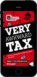 Cover of Very Awkward Tax by Emily Coltman