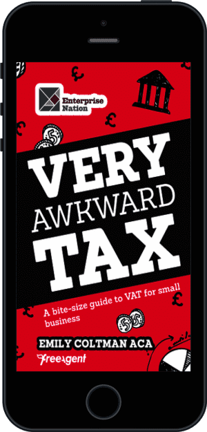 Cover of Very Awkward Tax (Ebook - phone) by Emily Coltman