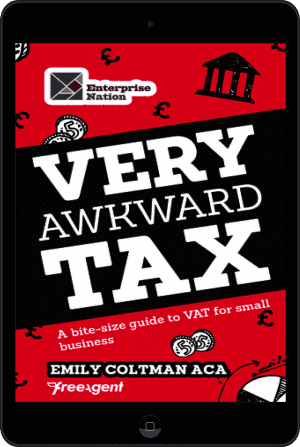 Cover of Very Awkward Tax (Ebook - tablet) by Emily Coltman