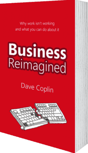 Cover of Business Reimagined (Paperback) by Dave Coplin