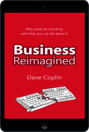 Cover of Business Reimagined (Ebook - tablet) by Dave Coplin