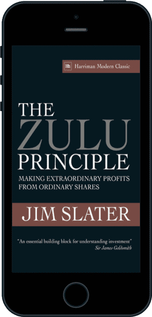Cover of The Zulu Principle (Ebook - phone) by Jim Slater