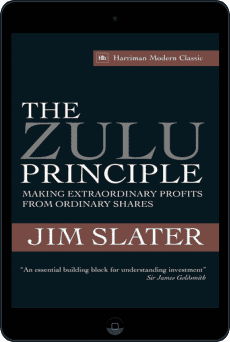 Cover of The Zulu Principle by Jim Slater