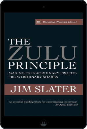Cover of The Zulu Principle (Ebook - tablet) by Jim Slater