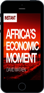 Cover of Africa's Economic Moment by David Mataen