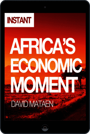 Cover of Africa's Economic Moment (Ebook - tablet) by David Mataen
