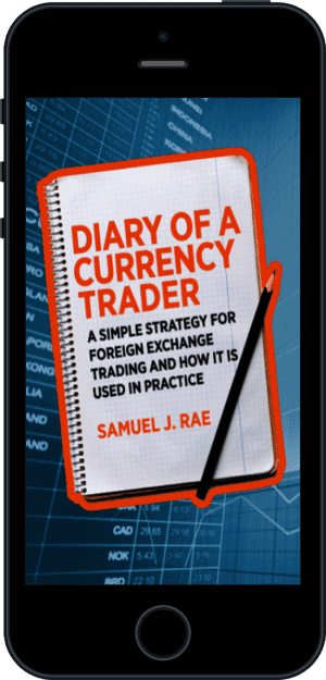 Cover of Diary of a Currency Trader (Ebook - phone) by Samuel J. Rae
