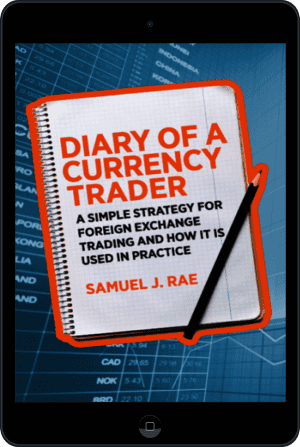 Cover of Diary of a Currency Trader (Ebook - tablet) by Samuel J. Rae