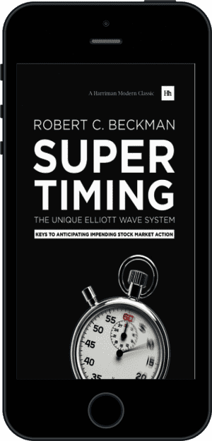 Cover of Supertiming: The Unique Elliott Wave System (Ebook - phone) by Robert C. Beckman