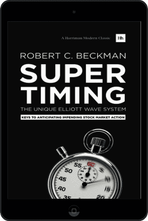 Cover of Supertiming: The Unique Elliott Wave System (Ebook - tablet) by Robert C. Beckman