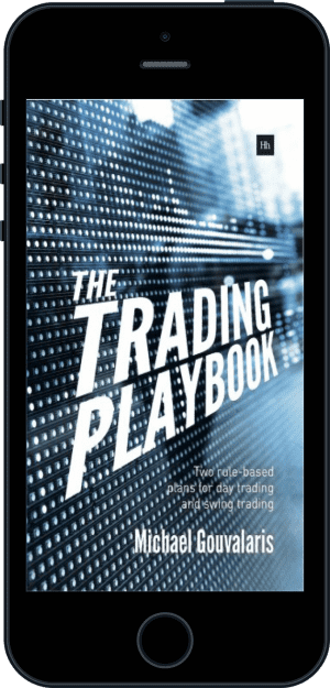 Cover of The Trading Playbook (Ebook - phone) by Michael Gouvalaris