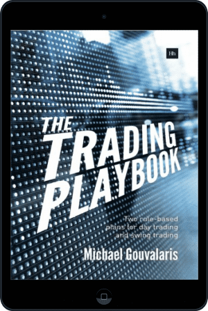 Cover of The Trading Playbook (Ebook - tablet) by Michael Gouvalaris