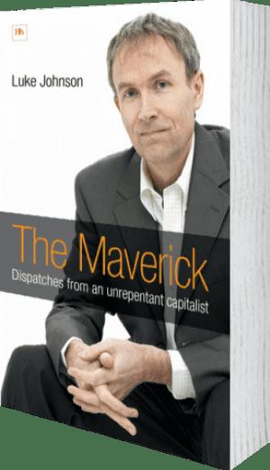 Cover of The Maverick (Hardback) by Luke Johnson