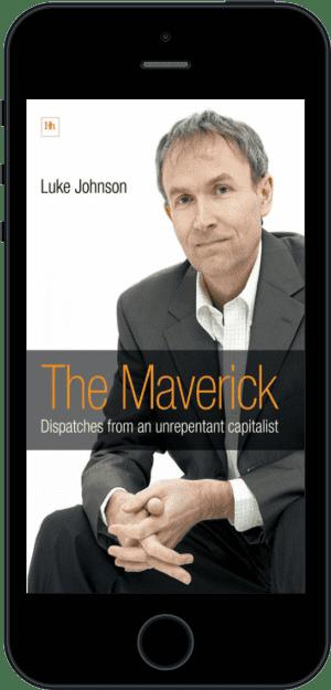 Cover of The Maverick (Ebook - phone) by Luke Johnson
