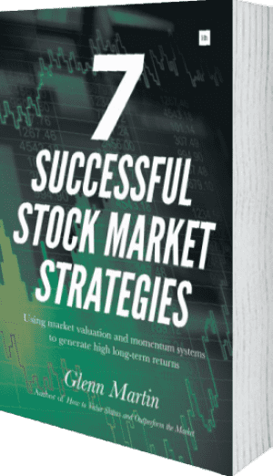 Cover of 7 Successful Stock Market Strategies by Glenn Martin