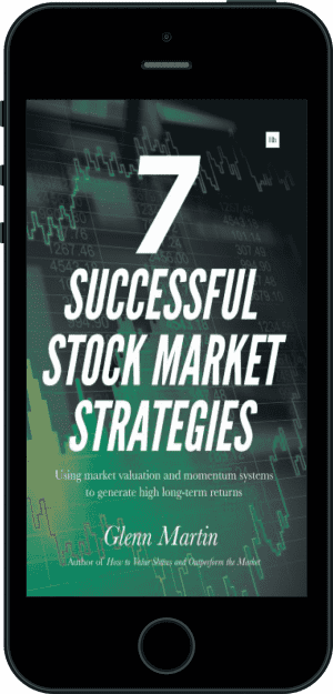 Cover of 7 Successful Stock Market Strategies (Ebook - phone) by Glenn Martin