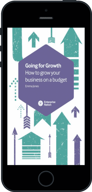 Cover of Going for Growth (Ebook - phone) by Emma Jones