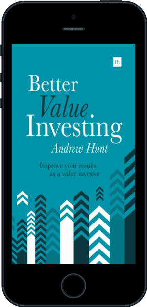 Cover of Better Value Investing (Ebook - phone) by Andrew Hunt